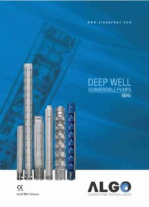Algo Submersible Pumps 50 Hz