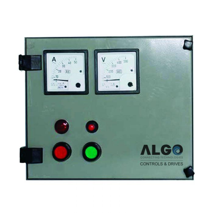 Single Two Phase Submersible Motor Control Panel Algo
